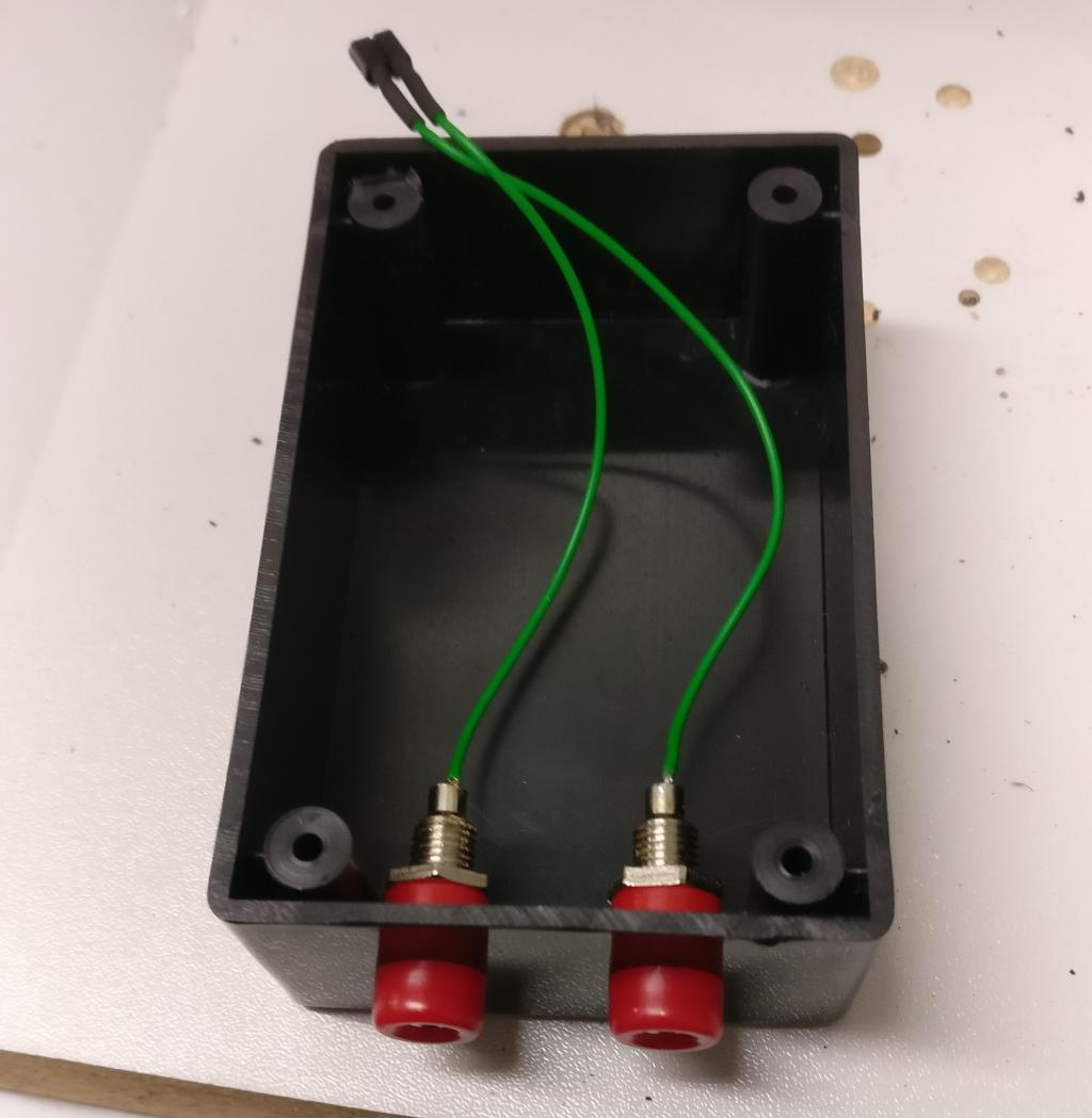 Box with connectors